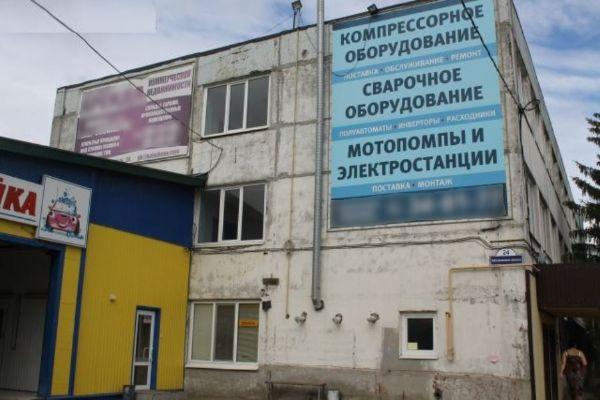 Отдельно стоящее здание на Московском шоссе, 2А