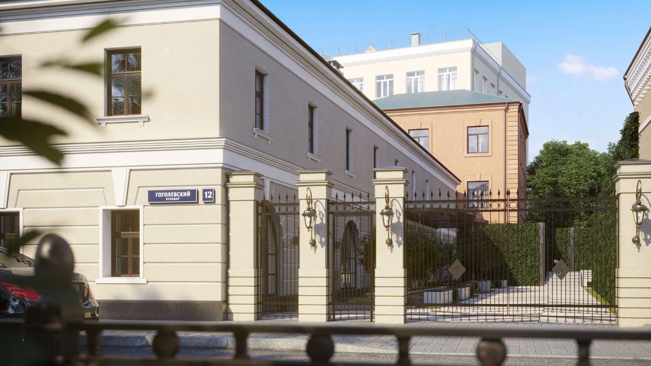 жилой комплекс Гоголевский 12