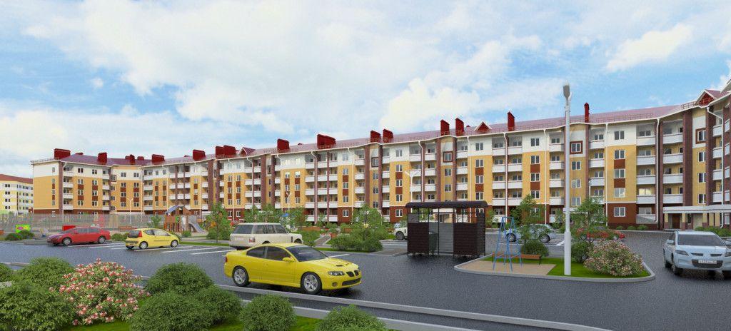 жилой комплекс Парадный - 1 в Славном