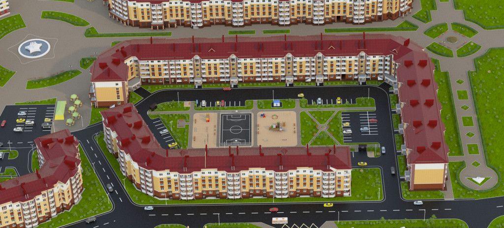купить квартиру в ЖК Парадный - 1 в Славном
