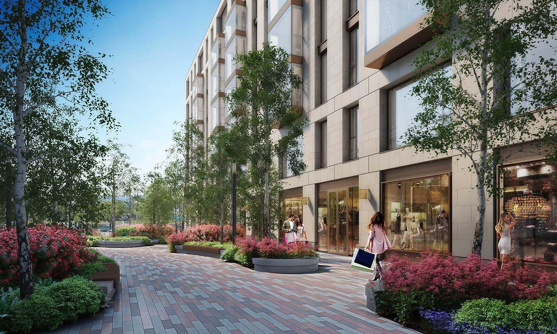 ЖК One Trinity Place - цены на сайте от официального застройщика GHP Group,  планировки жилого комплекса, ипотека, акции новостройки - Санкт-Петербург,  набережная Адмирала Лазарева, 22 - ЦИАН