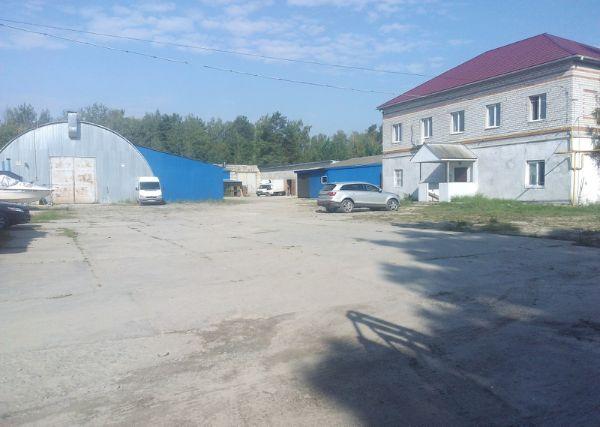 Складской комплекс на ул. Ново-Советская, 164