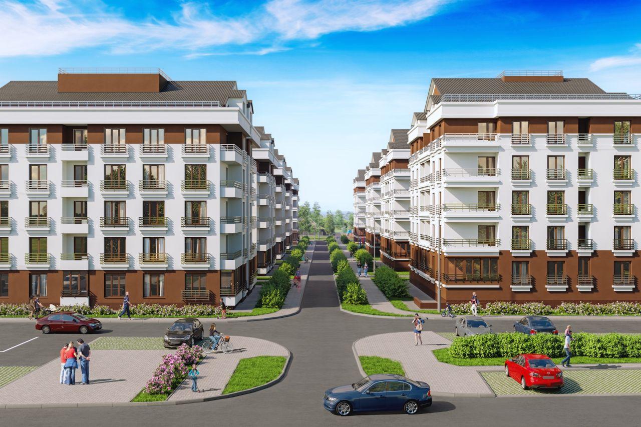 жилой комплекс Малаховский квартал
