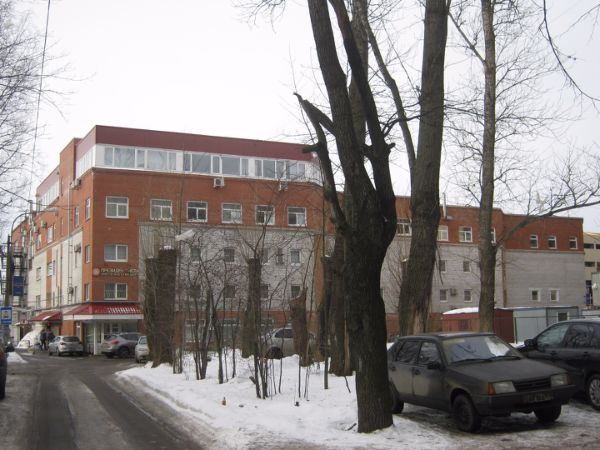 Офисное здание на ул. Зеленогорская, 4