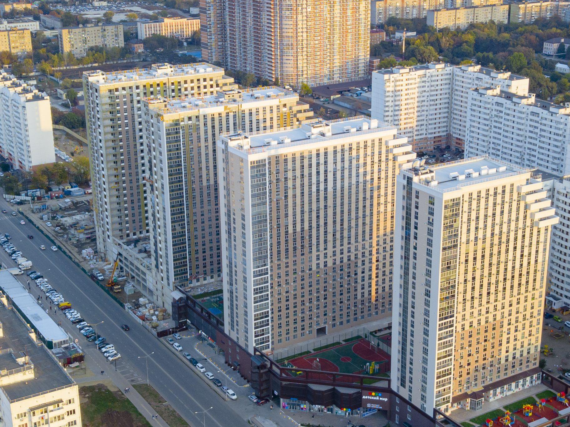купить квартиру в ЖК Кубанский