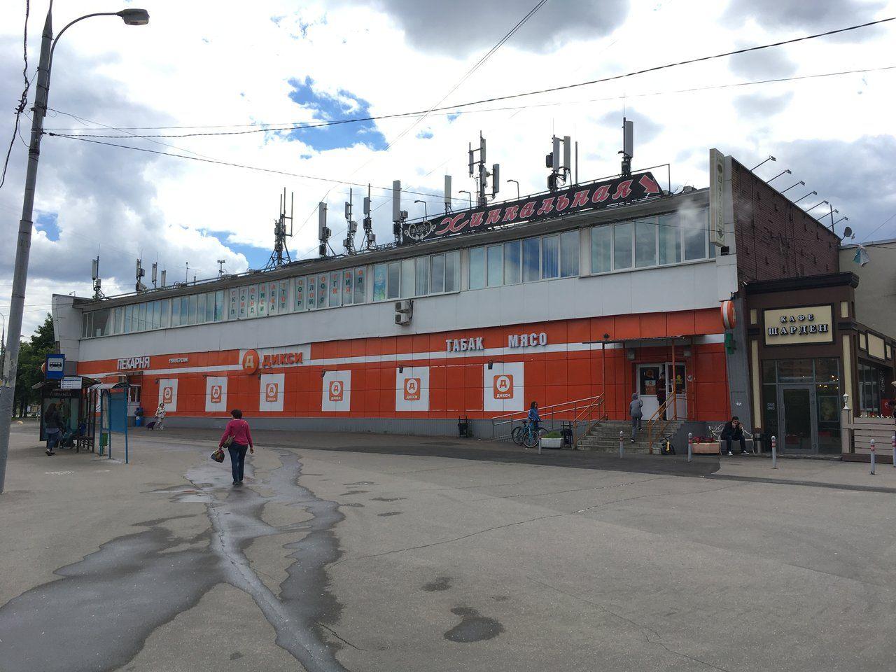 продажа помещений в ТЦ на ул. Новаторов, 16