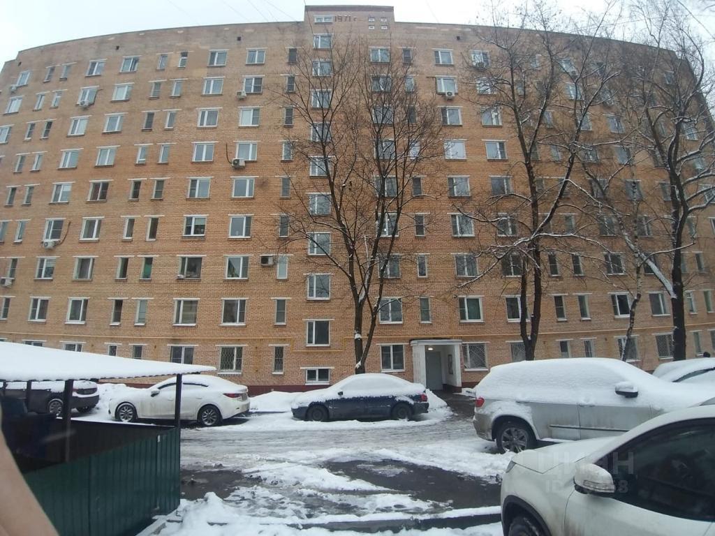 Купить однокомнатную квартиру 21.3м² Миллионная ул., 13К1, Москва, ВАО, р-н Богородское м. Бульвар Рокоссовского - база ЦИАН, объявление 250122702