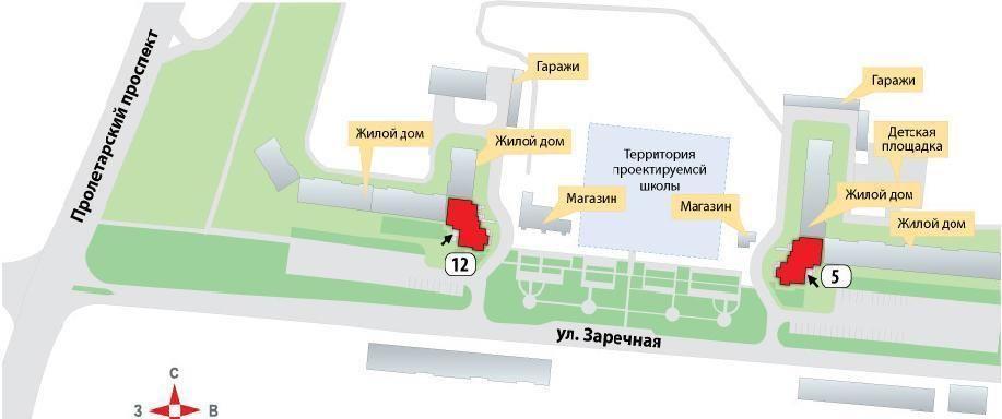 ЖК Пролетарский проспект 12