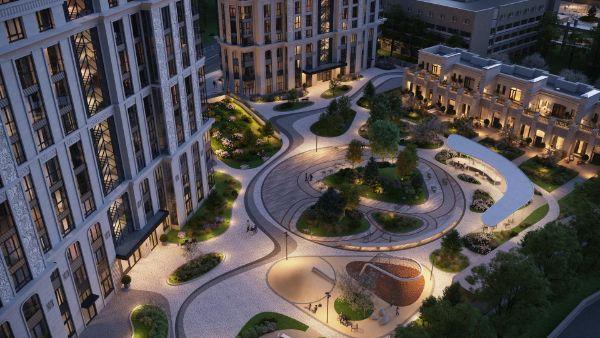 продажа квартир Городские резиденции SPIRES (Спайрс)