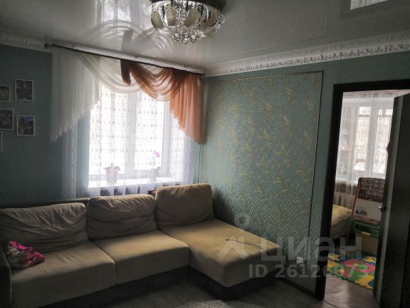 Продается двухкомнатная квартира за 1 950 000 рублей. г Тула, ул Волкова, д 9А.