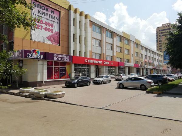 Торгово-офисный комплекс на ул. Красноармейская, 136Б