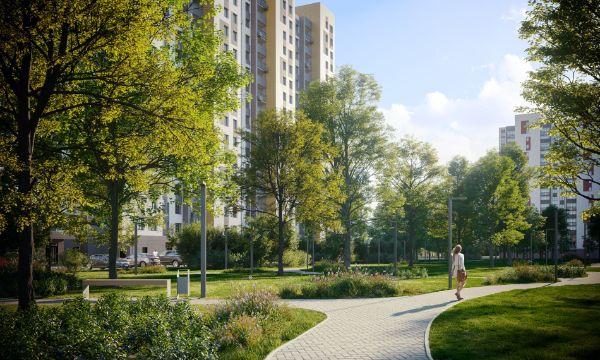 1-я Фотография ЖК «Домодедово парк. Новый квартал»